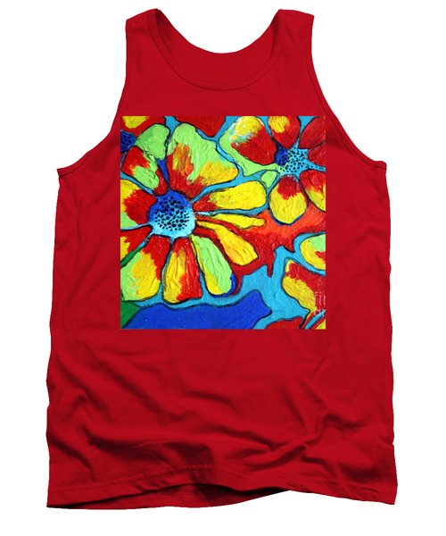 Floating Flowers Tank Top