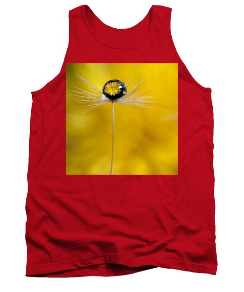 Flower And Seed Tank Top by Aaron Aldrich