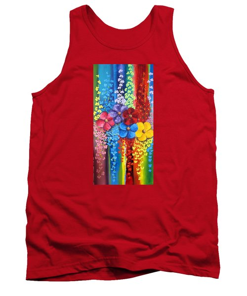 Flower Shower Tank Top by Katia Aho