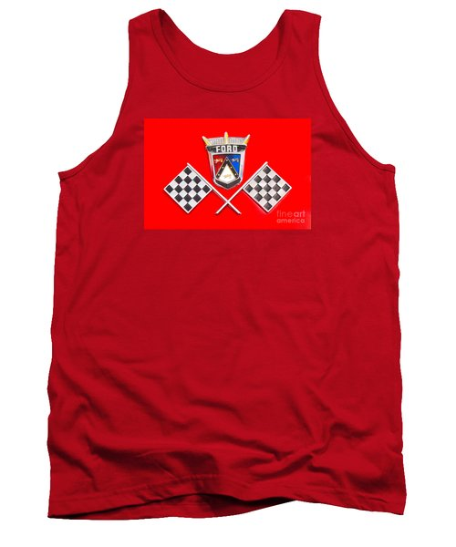Ford Emblem Tank Top by Jerry Fornarotto