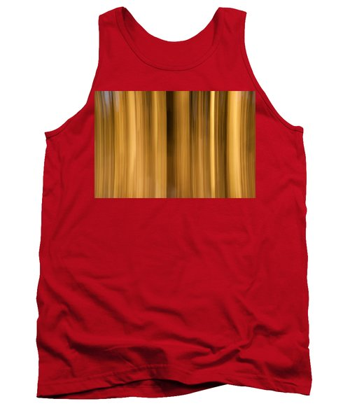 Tank Top featuring the photograph Abstract Forest by Davorin Mance