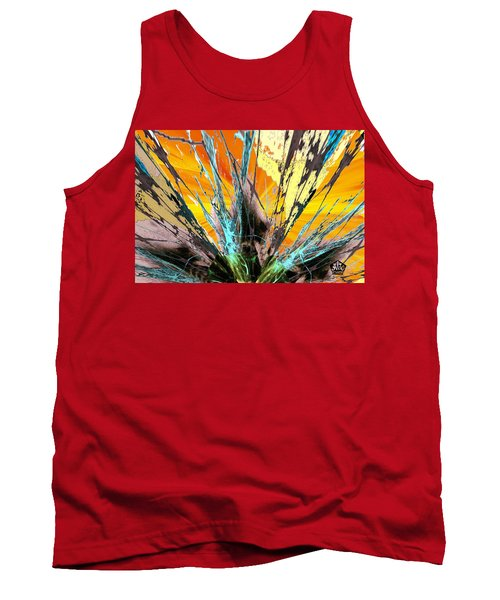 Fractured Sunset Tank Top