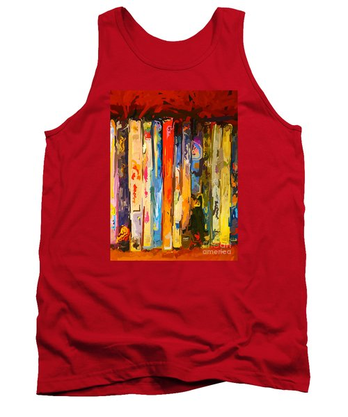 Free Your Mind Tank Top by Claudia Ellis
