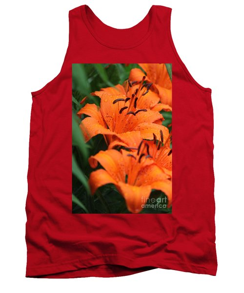 Freshly Showered Tiger Lilys Tank Top