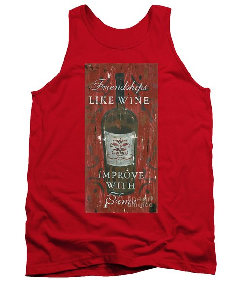 Friendships Like Wine Tank Top