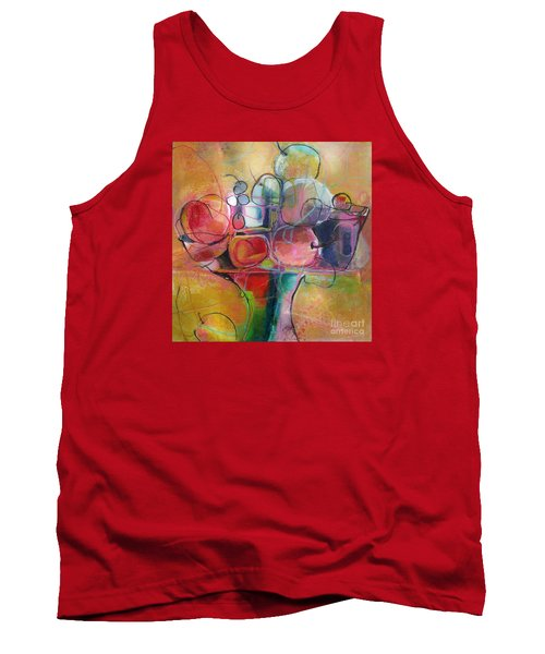 Tank Top featuring the painting Fruit Bowl No.1 by Michelle Abrams