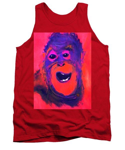Funky Monkey Happy Chappy Tank Top
