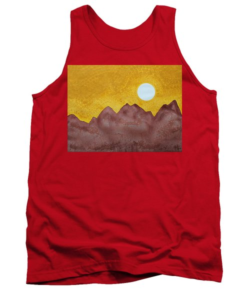 Gallup Original Painting Tank Top by Sol Luckman