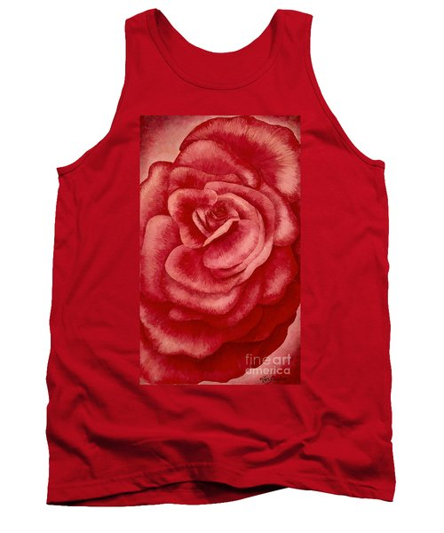 Garden Rose Tank Top