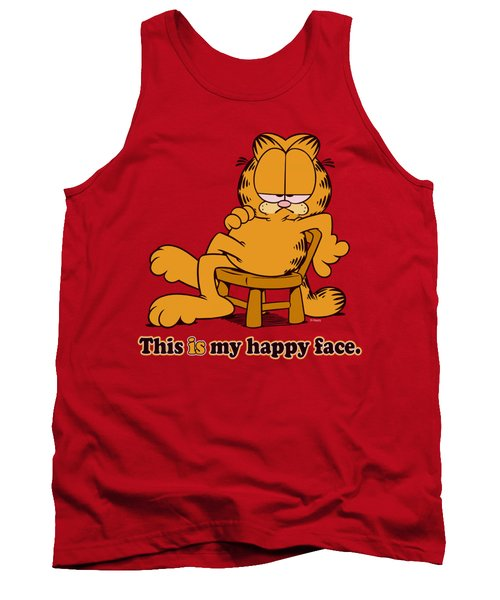Garfield - Happy Face Tank Top