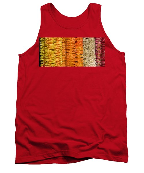 Tank Top featuring the photograph Garlands by Mini Arora