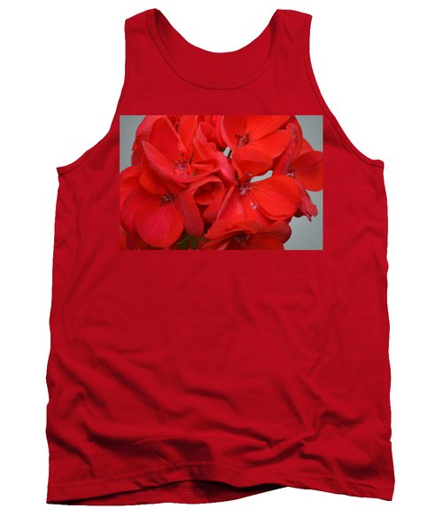 Geranium Red Tank Top