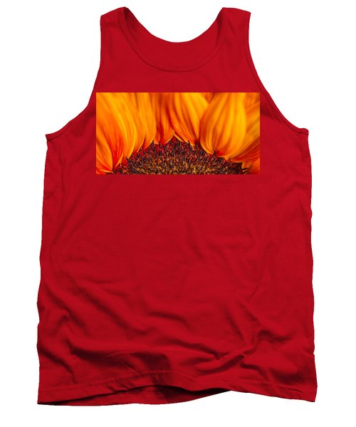 Tank Top featuring the photograph Gerbera On Fire by Adam Romanowicz