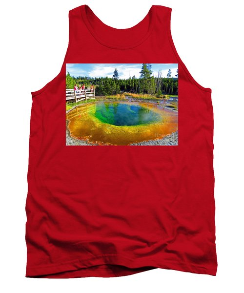 Glory Pool Yellowstone National Park Tank Top