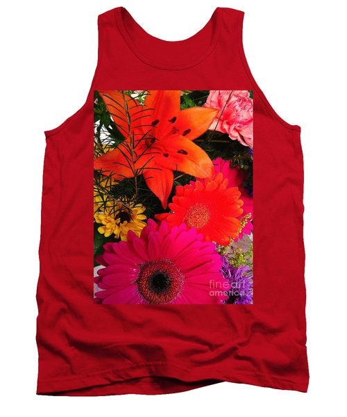 Tank Top featuring the photograph Glowing Bright by Meghan at FireBonnet Art