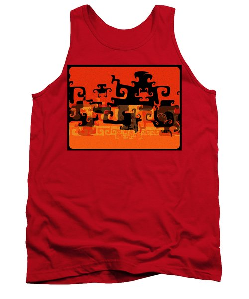 Gnarly Silhouette Parade Tank Top