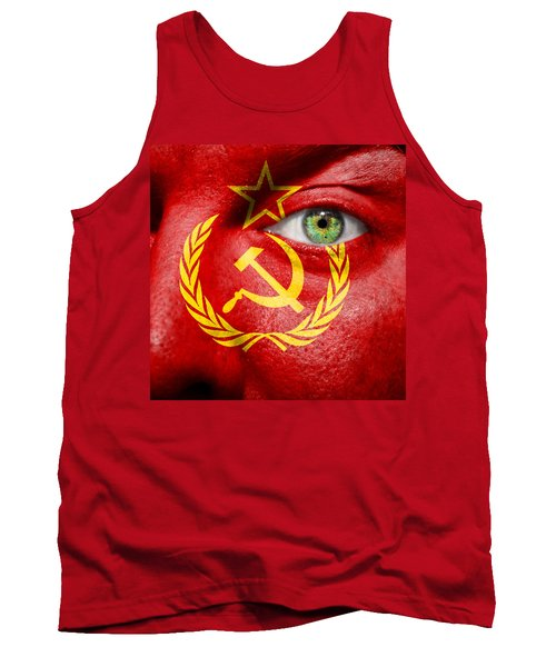 Go Ussr Tank Top by Semmick Photo