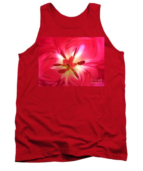 God's Floral Canvas 1 Tank Top