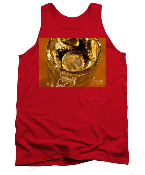 Tank Top featuring the photograph Golden Beer  Mug  by Wilma  Birdwell