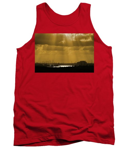 Golden Light Tank Top
