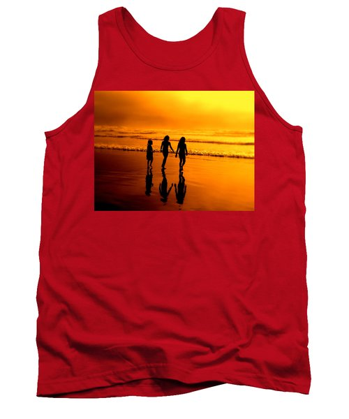 Golden Sands  Tank Top