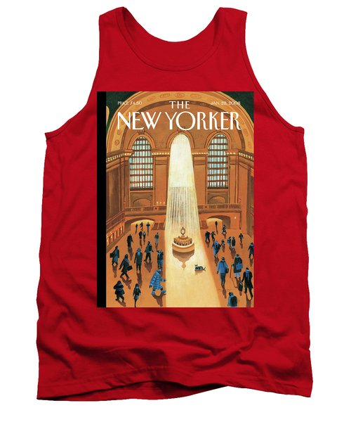 Grand Central Heating Tank Top