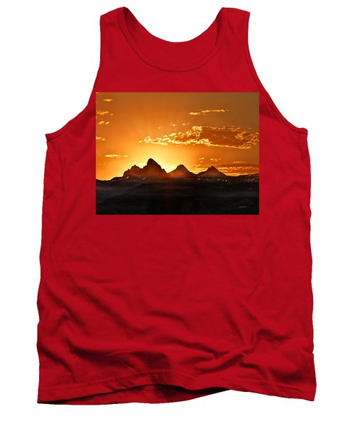 Grand Teton Sunrise Tank Top