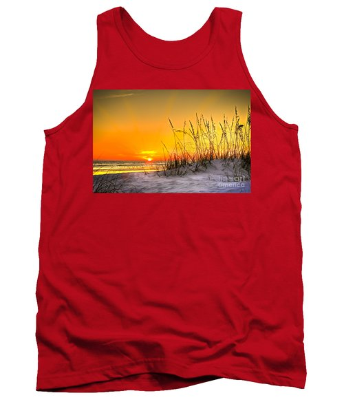 Gulf Sunset Tank Top by Marvin Spates