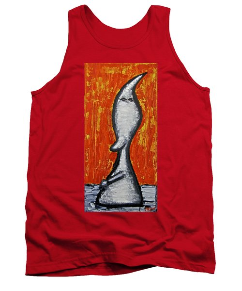 Tank Top featuring the painting Happiness 12-009 by Mario Perron