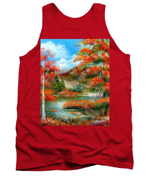 Happy Ever After Autumn  Tank Top