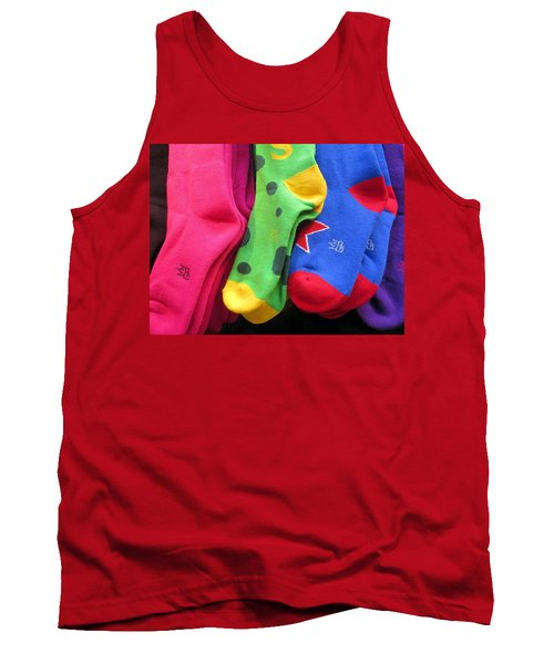 Wear Loud Socks Tank Top