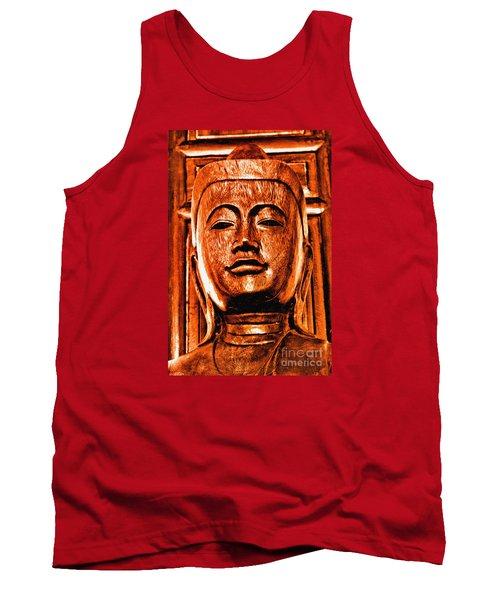 Head Of The Buddha Tank Top