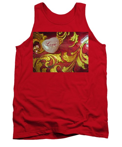 Put A Little Love In Your Heart - Romantic Images - Photography Tank Top