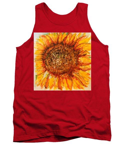 Hello Sunflower Tank Top
