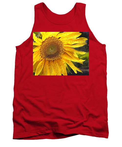 Here Comes The Sun Tank Top by Jean Noren