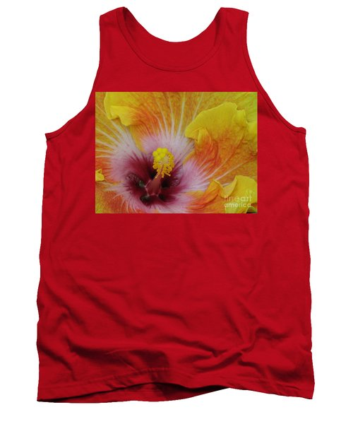 Tank Top featuring the photograph Hibiscus by Tam Ryan