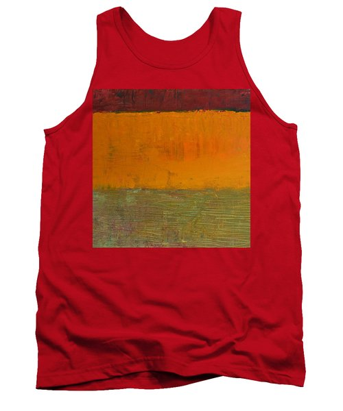 Highway Series - Grasses Tank Top by Michelle Calkins