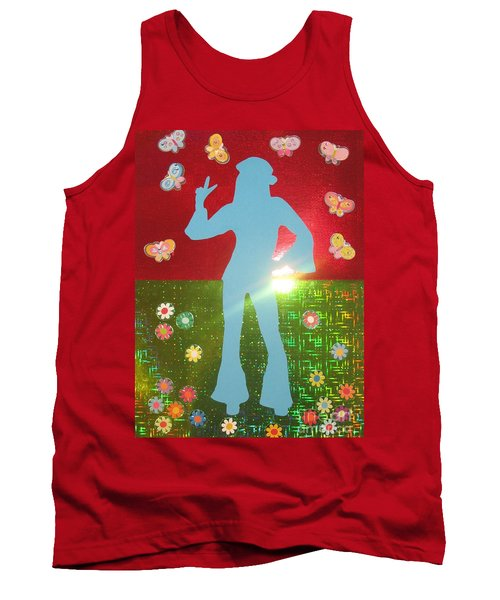 Hippie Girl Tank Top