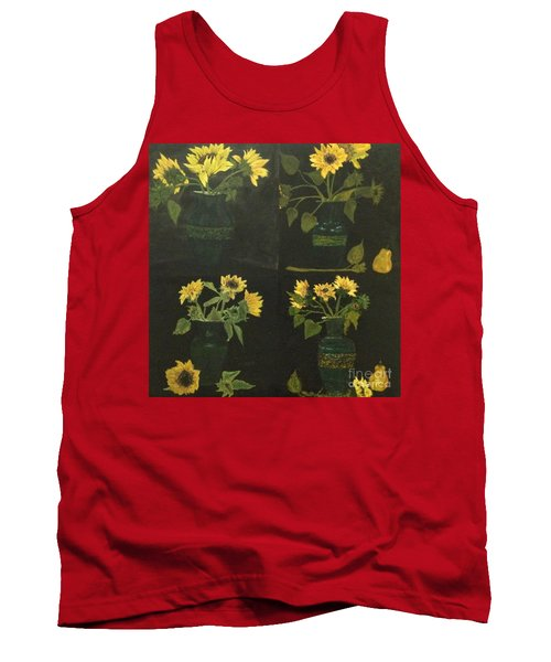 Tank Top featuring the painting Hirasol by Vanessa Palomino