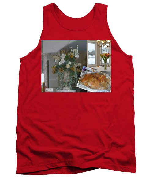 Holiday Collage Tank Top