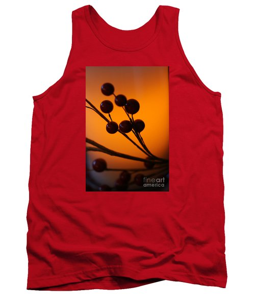 Tank Top featuring the photograph Holiday Warmth 3 by Linda Shafer