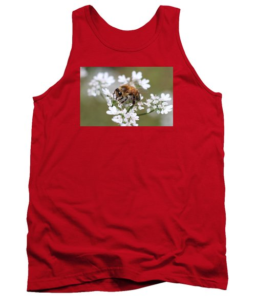 Honeybee On Cilantro Tank Top