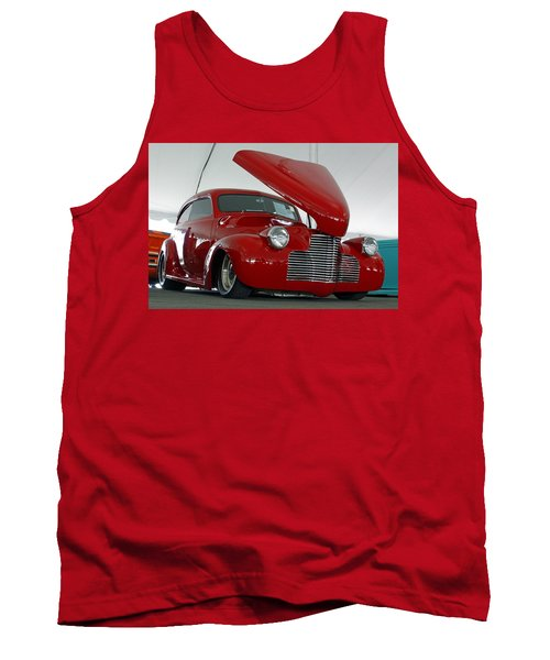Tank Top featuring the photograph Hot In Red by Shoal Hollingsworth