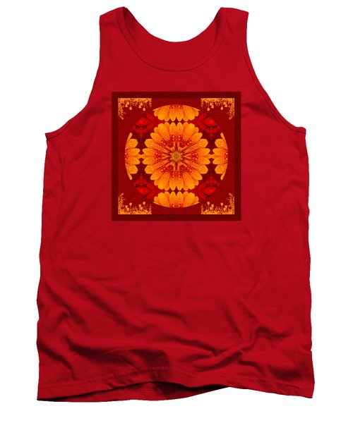 Hot Tropical Zen Tank Top