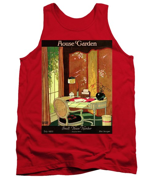 House And Garden Small House Number Tank Top