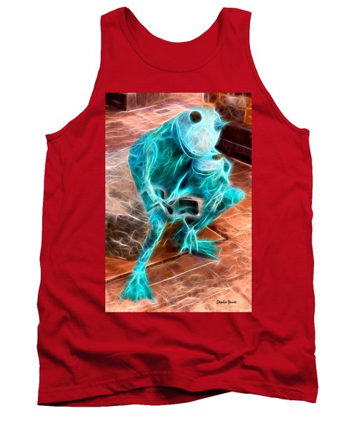 Howard County Library - Miller Branch - Reading Frogs Tank Top