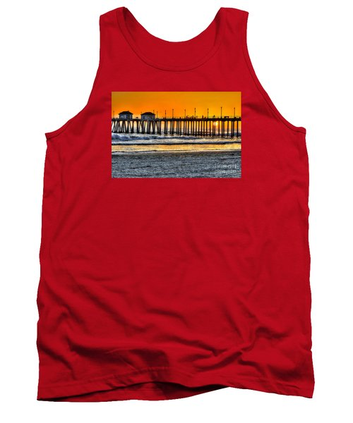 Huntington Beach Sunset Tank Top