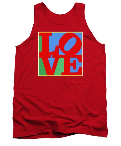Iconic Love Tank Top by Paulette B Wright