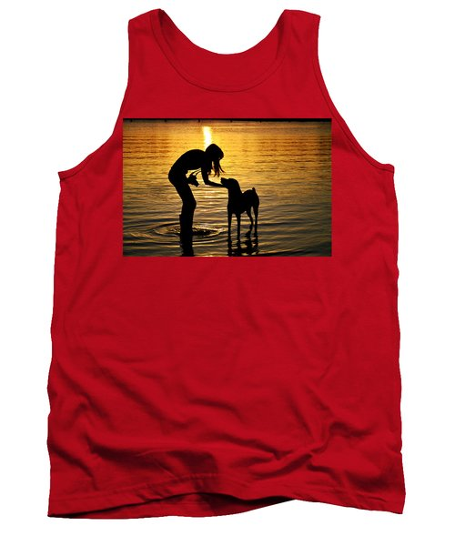 if you call I will answer Tank Top