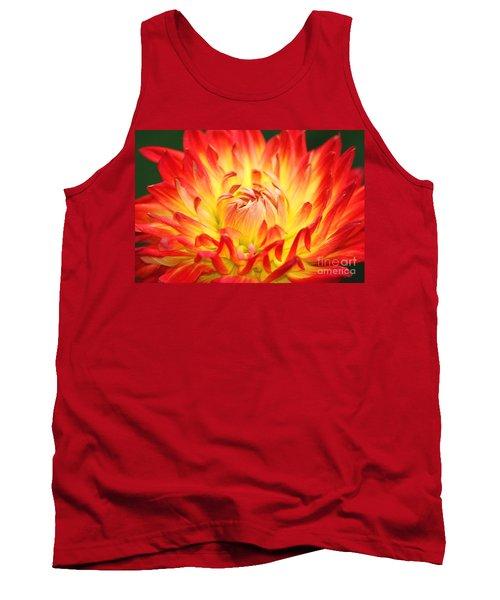 Img 0023 Flor En Rojo Detalle Tank Top